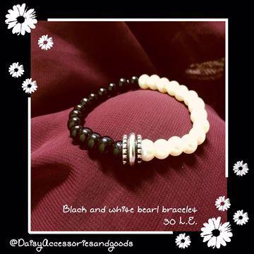 Black&white bracelet