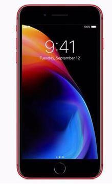صورة ابل ايفون 8 Plus مع فايس تايم - 256 جيجا, الجيل الرابع ال تي اي, احمر