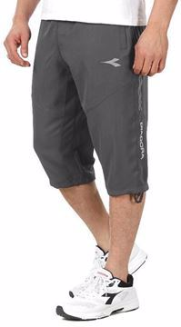 Picture of Diadora 216161 Casual Short For Men, Grey