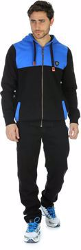 Picture of Cottonil Black And Blue Pajama For Men