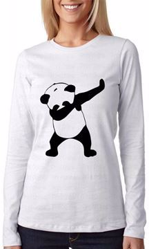 Picture of Print Online White Round Neck T-Shirt For Women