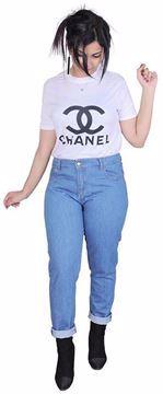 Picture of Boyfriend Jeans - Jeans - blue