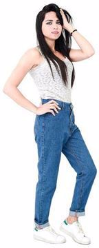 Picture of Behery Jeans Boyfriend Jeans Pant For Women
