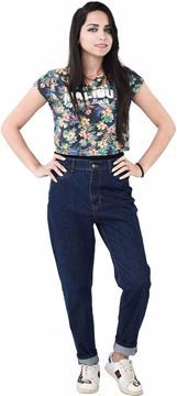 Picture of Behery Jeans 1302 Comfort Fit Jeans For Women - Navy