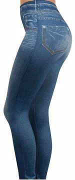 Picture of Slim Jegging by Zlimmy Blue Skinny Leggings Pant For Women