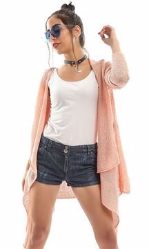 Picture of Ravin 47467 Cardigan For Women, Pink