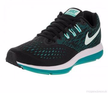 Picture of Nike Zoom Winflo 4 Running Shoes For Women - Black Blue