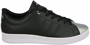 Picture of Adidas Advantage Clean Qt Walking Shoes For Women - Black