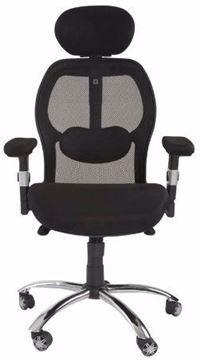 Picture of Mahmayi Ruvi 0266H02 High Back Mesh Chair - Black