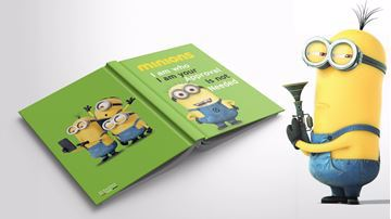 Picture of Minions Notebook