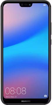 Picture of Huawei P20 Lite Dual SIM - 64GB, 4GB RAM, 4G LTE, Midnight Black