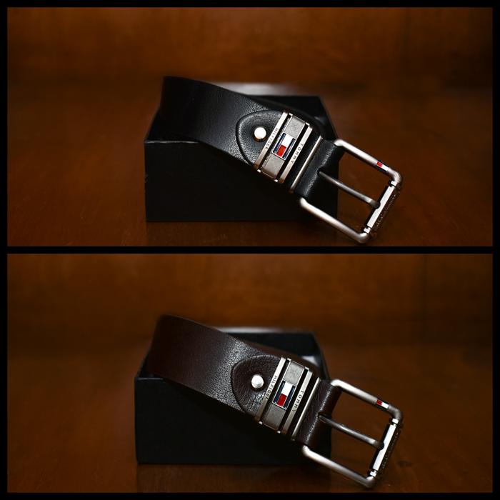 صورة حزام جلد طبيعي %100