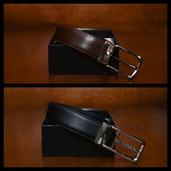صورة حزام كلاسيك جلد طبيعي %100