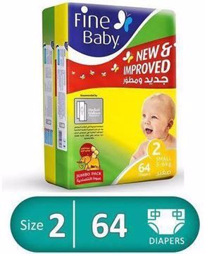 Picture of Fine baby no 2 / 64 diapers