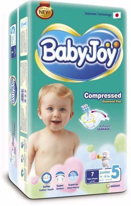 صورة Baby joy no 5 / 60 diapers