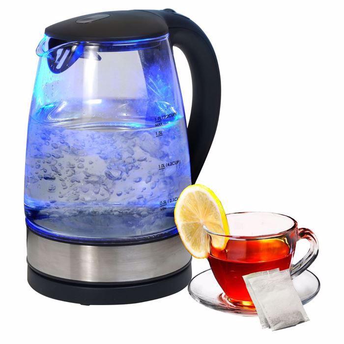 صورة غلاية مياة زجاج صحية سعة 1.8 لتر جراند