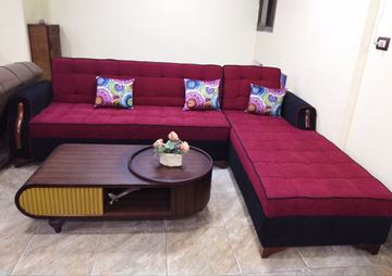 Picture of Corner Sofa-Bed
