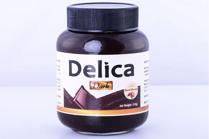صورة Delica Dark spread chocolate jar 350 g