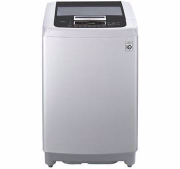 Picture of LG Top Loading Digital Washing Machine, 13.2 KG, Silver - T1369NEFTF