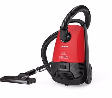 Picture of TOSHIBA VC-EA1600SE Vacuum Cleaner - Red Black, 1600 Watt