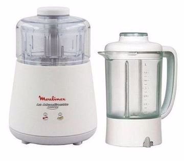 Picture of Moulinex Dpa241 Choppers , Blender 1000 Watt French - White