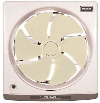 Picture of Toshiba VRH20J10 Kitchen Ventilating Fan-20Cm-Off White