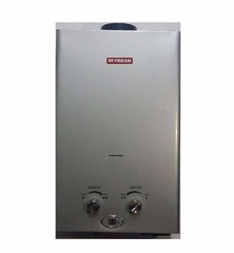 Picture of Fresh Gas Water Heater, 10 Liters - silver