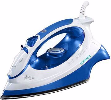 Picture of Tornado TA-2000S Iron 2000 Watt with Teflon Sole Plate blue