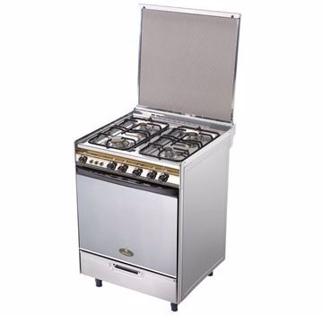 Picture of Kiriazi -6400- Cooker 4 Burners - Stainless Steel