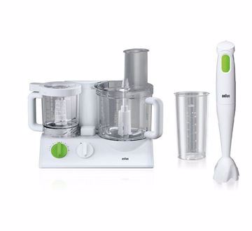 Picture of Braun FX3030 Food Processor And Braun MQ100 Multiquick 1 Hand Blender
