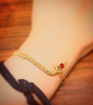 snake copper bracelet