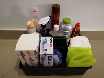 صورة hand cleaning basket