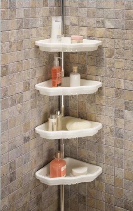 صورة Acrylic Corner Shelf