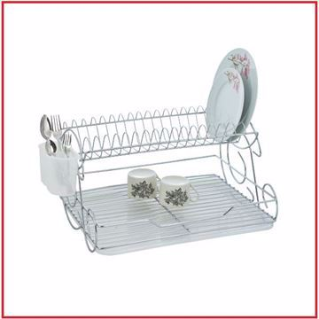 صورة Kiwa Nickel Dish Rack three shapes