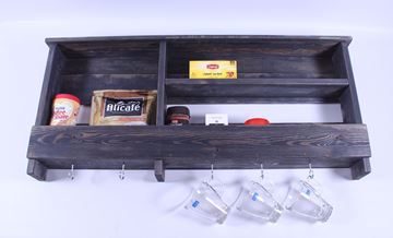 Picture of Wooden Kitchen Storage Shelf