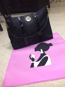 Picture of Tommy Hilfiger Black Tote Bag  - Women