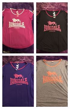 Picture of Lonsdale Women's T-shirts - On Sale