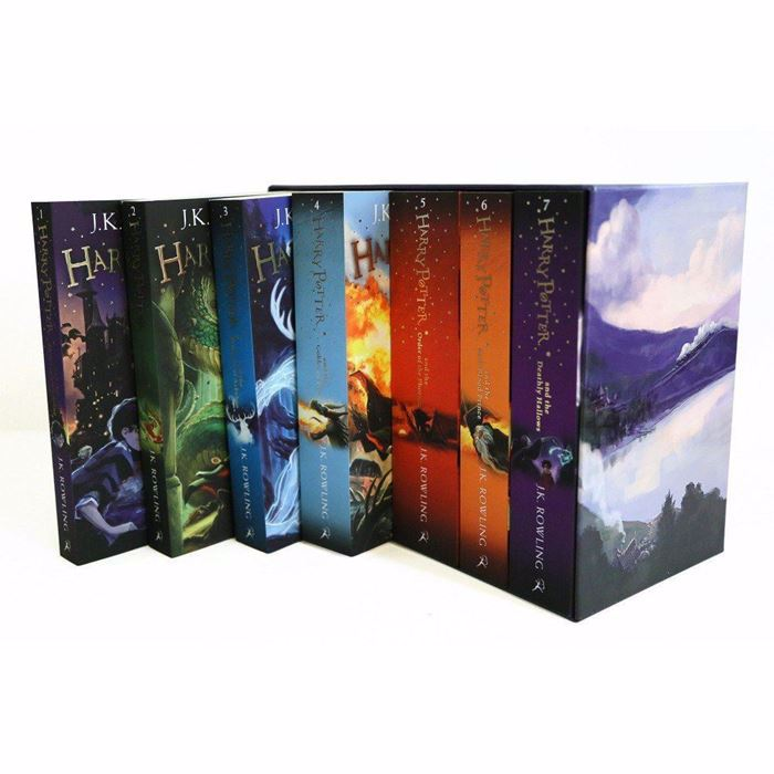 Picture of harry potter 8 book english