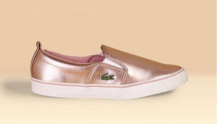 صورة Lacoste Sneakers  - Rose gold/White