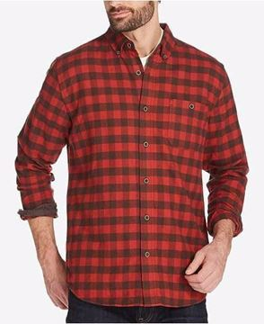 Picture of Weatherproof Vintage Men's Long Sleeve Flannel Shirt