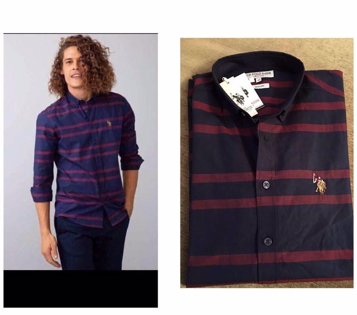 صورة U.S. Polo Assn. Men's Woven Shirt