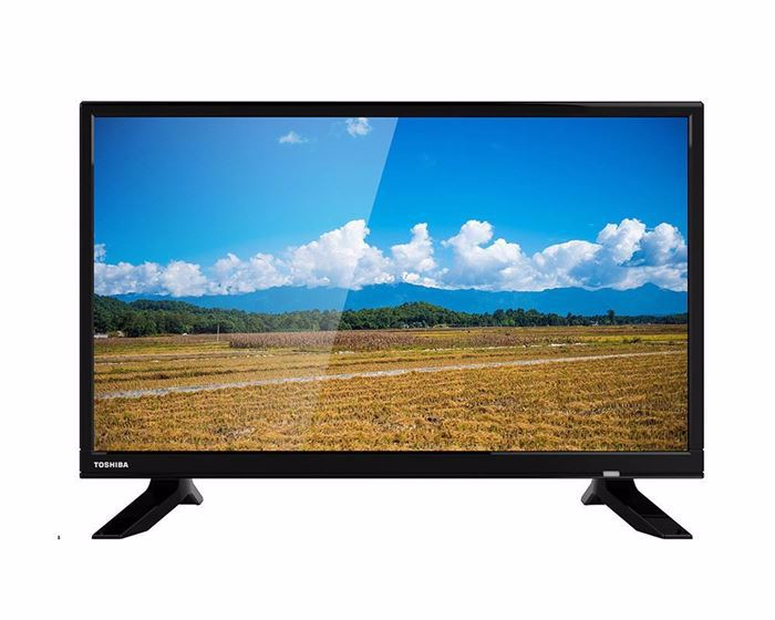 Picture of TOSHIBA LED TV 24 Inch HD With 2 HDMI and 2 USB Inputs 24S1800EA