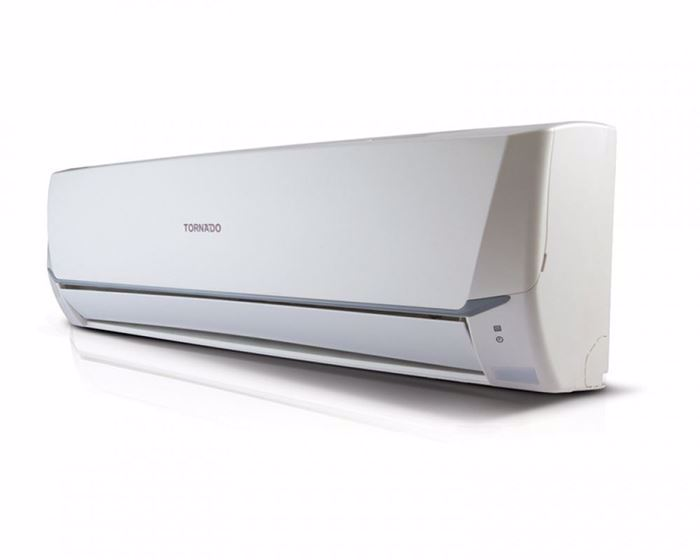 Picture of TORNADO Split Air Conditioner 1.5 HP Cool Standard With Dry and Super Jet Function In White Color TH-C12UEE