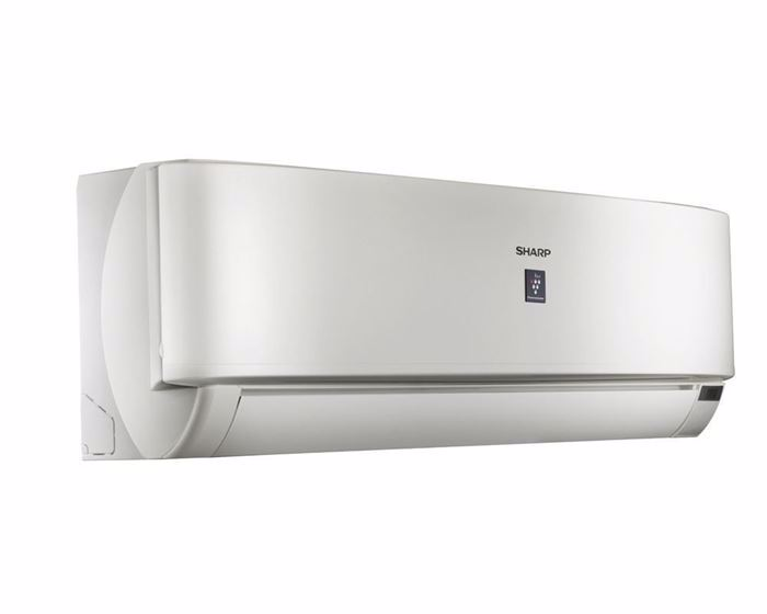 Picture of SHARP Split Air Conditioner 2.25HP Cool - Heat Premium Plus Digital With Plasma Cluster In White Color AY-AP18UHE