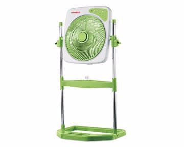 Picture of TORNADO Box Stand Fan 14 Inch With 4 Plastic Blades and Remote Control In Blue Or Green Color B-BXS-35R