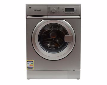 Picture of TORNADO Washing Machine Fully Automatic 8 Kg In Silver Color TWFL8-V12S