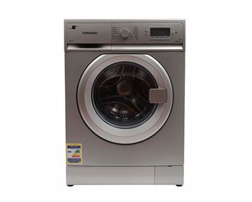 Picture of TORNADO Washing Machine Fully Automatic 7 Kg In Silver Color TWFL7-V10S