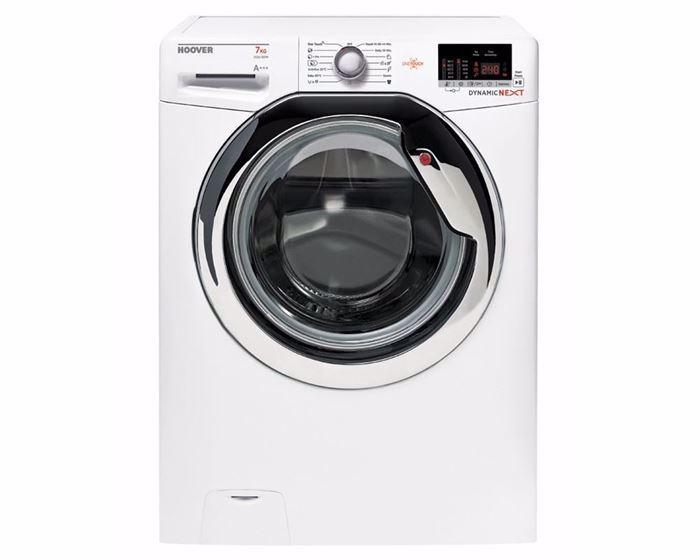صورة غسالة ملابس هوفر فول أوتوماتيك 7 كيلو لون أبيض DXOC17C3-EGY