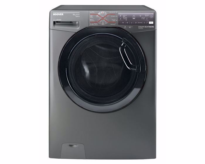 Picture of HOOVER Washing Machine Fully Automatic 10 Kg With Inverter Motor In Silver Color DWFT510AHB3R-EGY