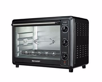 Picture of SHARP Electric Oven 60 Litre , 2000 Watt in Black Color With Grill and Fan EO-60K-2
